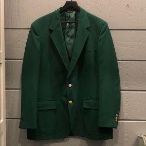 Other - Masters Golf Costume Green Blazer Palm Beach